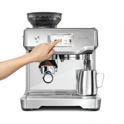 Breville BES880 Barista Touch Espresso Coffee Machine (Brushed Stainless Steel)