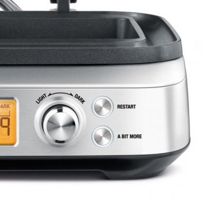 Breville BWM640 the Smart Waffle™ Pro 4 Slice Waffle Maker
