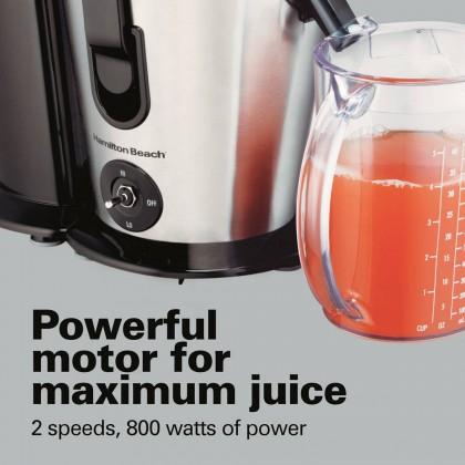 Hamilton Beach Big Mouth Plus 2 Speed Juice Extractor 67750-SAU
