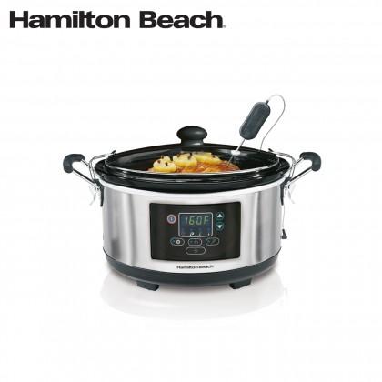 Hamilton Beach Programmable Set & Forget Slow Cooker 33956A-SAU