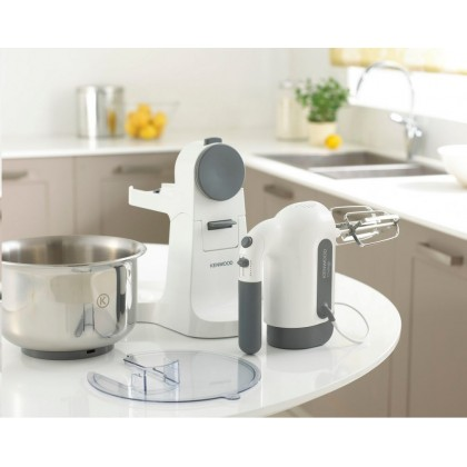 Kenwood HM680 Chefette Hand & Stand Mixer 3L 350W (White)