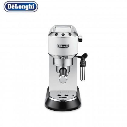 Delonghi Dedica Style Pump Espresso Coffee Machine EC685 (Red / Metal / White)