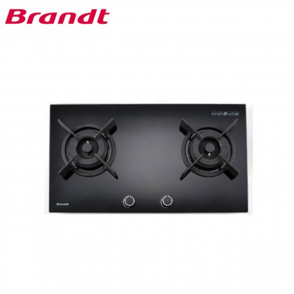 Brandt TG1482B 80cm 2 Zones Gas Hob