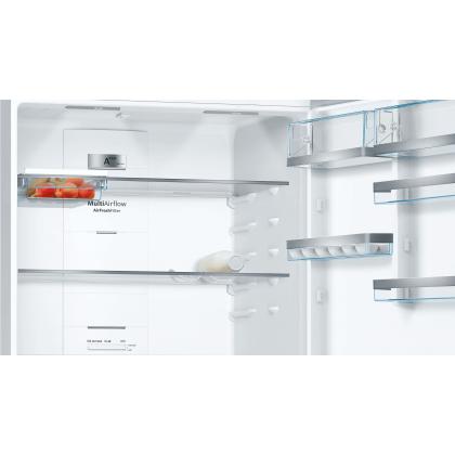 Bosch KGN86AI4MO Serie 6 Freestanding Bottom Freezer Refrigerator 619L (Stainless steel with anti-fingerprint) - Made in Turkey