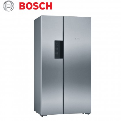 Bosch KAN92VI35I Serie 4 Side By Side Refrigerator 658L (Stainless Steel with Anti-fingerprint)