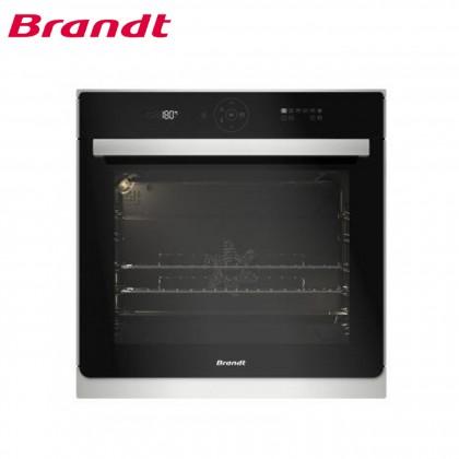 Brandt 60cm 73L Built-in Pyrolytic Oven BXP6555X