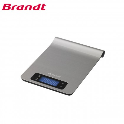 Brandt Electronic Weighing Kitchen Scale BC53X (Stainless Steel)
