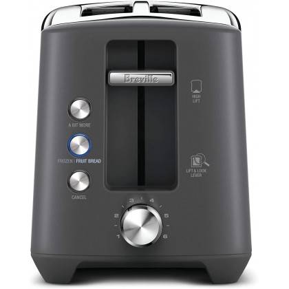 Breville BTA435 the Bit More Plus 2 Slice Toaster (Stainless Steel)