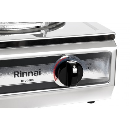 Rinnai RTL-35KS Semi-Commercial Table Top Single Burner Stove (Stainless Steel)
