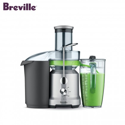 Breville BJE430 the Juice Fountain Cold Juicer (Silver)