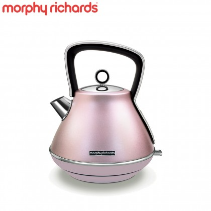 Morphy Richards 100117 Evoke Limited Edition Rose Pyramid Kettle (Rose Pink)