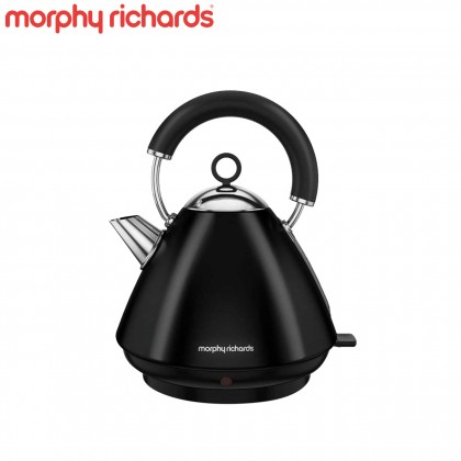 Morphy Richards 102030 Accents Pyramid Kettle (Black)