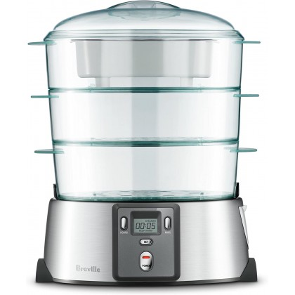 Breville BFS600 Quick Steam Digital Food Steamer (Brushed Stainless Steel)