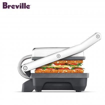 Breville BSG220 Toast & Melt Grill & Sandwich Maker (Brushed Stainless Steel)