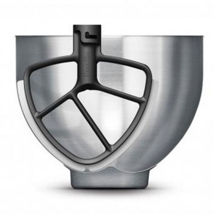 Breville LEM250 Scraper Beater Stand Mixer 700W 4.5L (Silver)