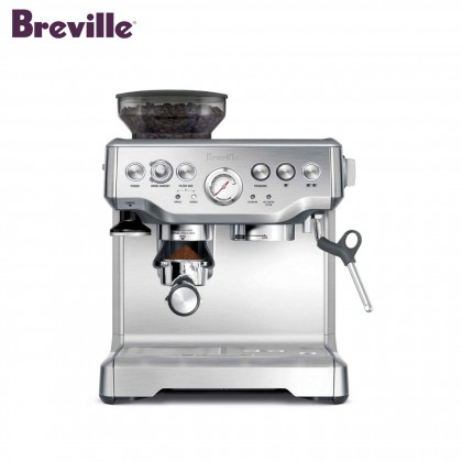 Breville BES870 Barista Express Espresso Coffee Machine (Cranberry Red)