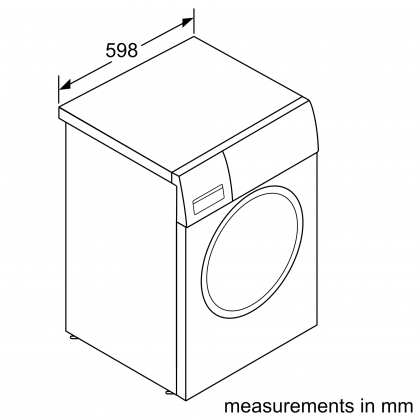 Bosch WNA254U0SG Serie 6 10kg/6kg Washer Dryer 1400rpm