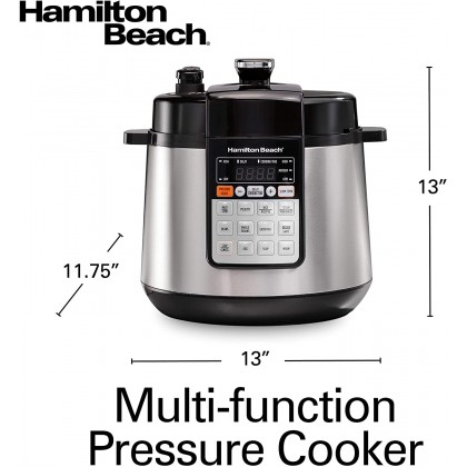 Hamilton Beach 34502-SAU Multi Function Pressure Cooker 5.6L