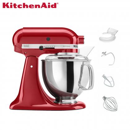 KitchenAid 5KSM150PSB Artisan 4.8L Tilt-Head Stand Mixer (Empire Red) 5KSM150PSBER
