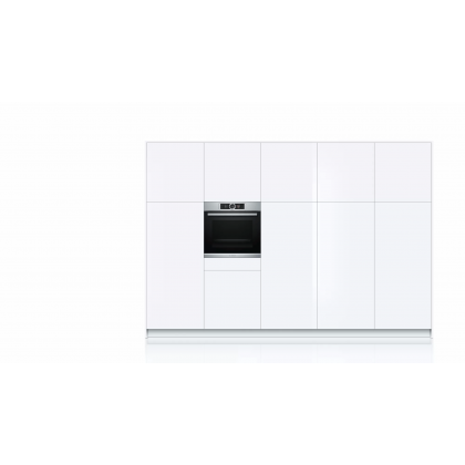 Bosch HSG636ES1 Serie 8 Built-in Oven with Steam Function 71L - Made in Germany