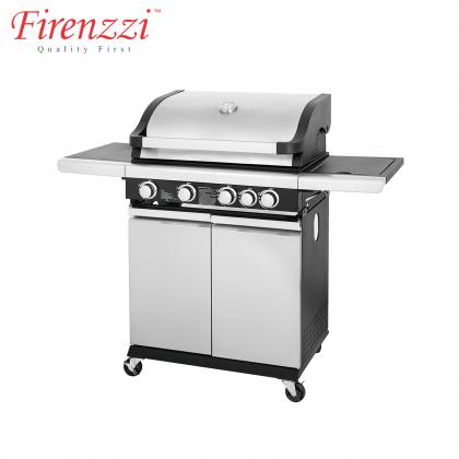 Firenzzi FBQ-1548 BBQ Grill 4 Burner + 1 Side Burner