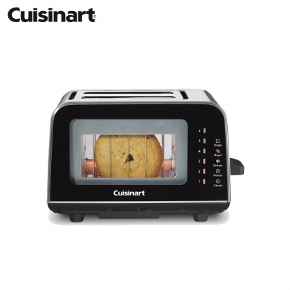 Cuisinart CPT-3000 ViewPro Glass 2 Slice Toaster (Black)