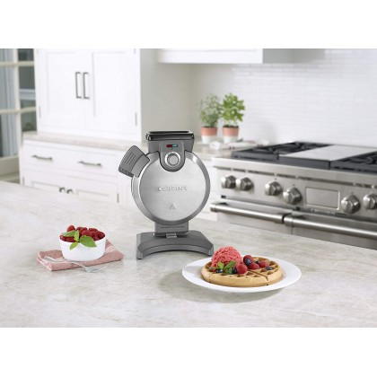 Cuisinart WAF-V100 Vertical Waffle Maker - Single (Silver)