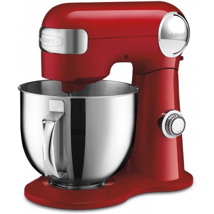 Cuisinart SM-50 Precision Master 5.2L Stand Mixer - 500W (Periwinkle Blue / Ruby Red / Silver Lining)