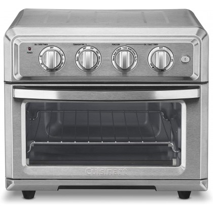 Cuisinart TOA-60 Air Fryer Toaster Convection Oven 17L (Stainless Steel)