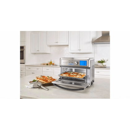 Cuisinart TOA-65 Digital Air Fryer Toaster Convection Oven 17L (Stainless Steel)