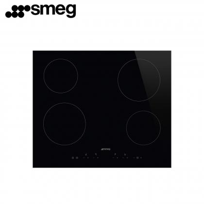 Smeg SE364ETD 4 Zones Ceramic Hob 60cm Touch Control (Black)