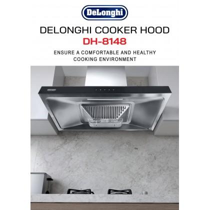 Delonghi DH-8148 90cm Cooker Hood 1450 m³/hr