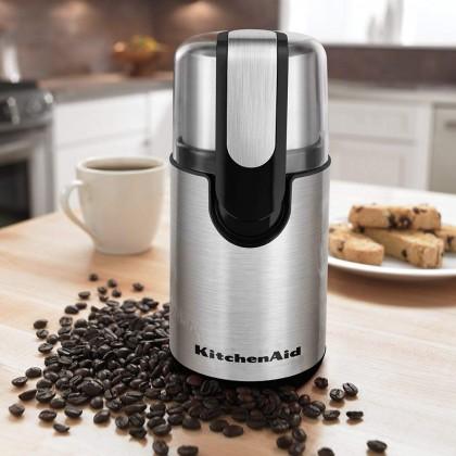 Kitchenaid 5KCG111GOB Blade Coffee Bean Grinder (Onyx Black )