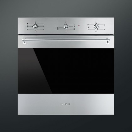 Smeg SF6381X Built-in Classic Series Oven 60cm 73L (Stainless Steel)