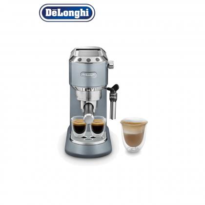 Delonghi EC785 Dedica Metallics Pump Espresso Coffee Machine EC785.AZ (Glossy Blue)