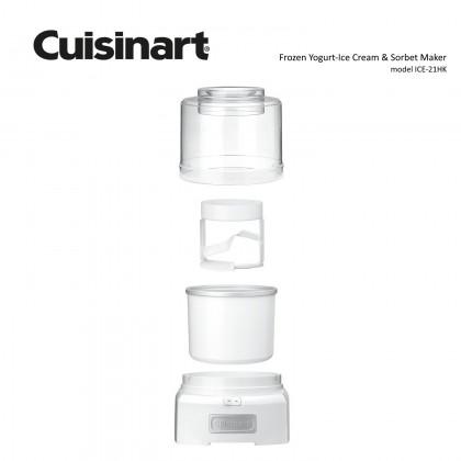 Cuisinart ICE-21HK Frozen Yogurt - Sorbet & Ice Cream Maker 1.5L (White)